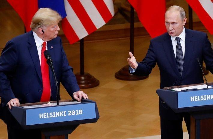 Путин назвал бредом заявления о сговоре с Дональдом Трампом