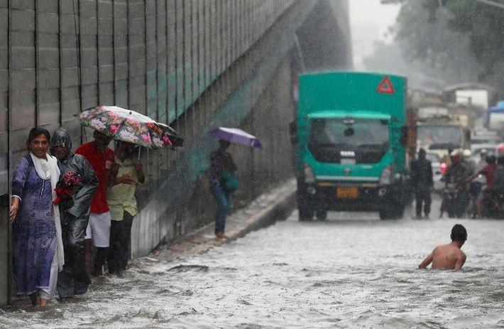 В Индии из-за муссоных дождей погибли свыше 500 человек