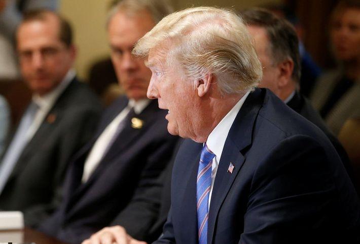 Трамп заявил, что он самый жесткий к России президент США