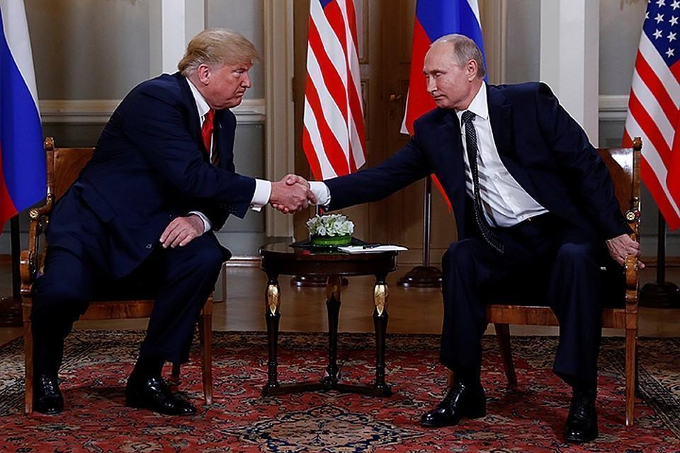 Bloomberg: Путин предложил Трампу провести референдум в ЛНР и ДНР