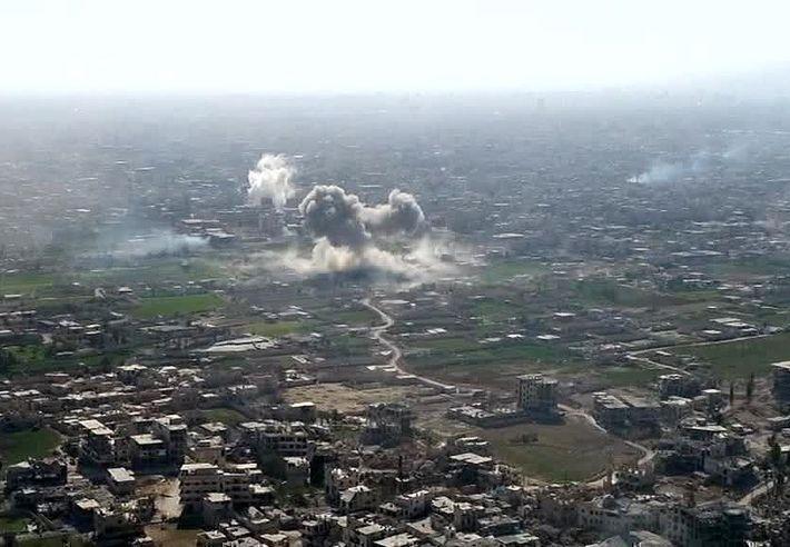 В Сирии у авиабазы РФ уничтожен беспилотник боевиков