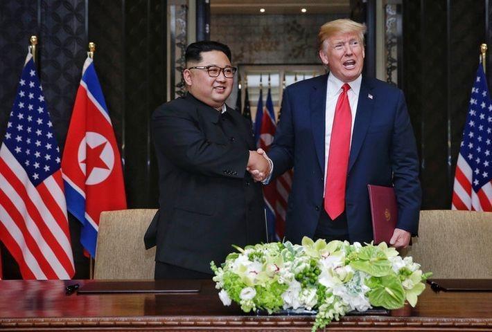 Трампа расстраивает отсутствие быстрого прогресса по ситуации с КНДР