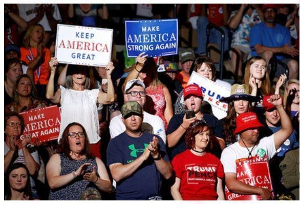Стали известны причины мощной поддержки Трампа