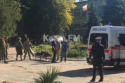 Очевидец рассказала о стрельбе и нескольких взрывах в Керчи