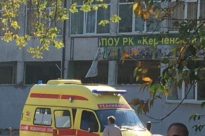 В Керчи произошёл хлопок газа возле политехнического колледжа