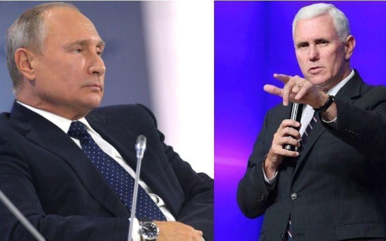 Эксперт рассказал, для чего была нужна встреча Путина и Пенса