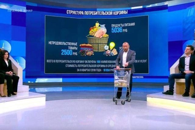 Выживающего на 3,5 тыс. рублей депутата высмеяли на «Первом канале»