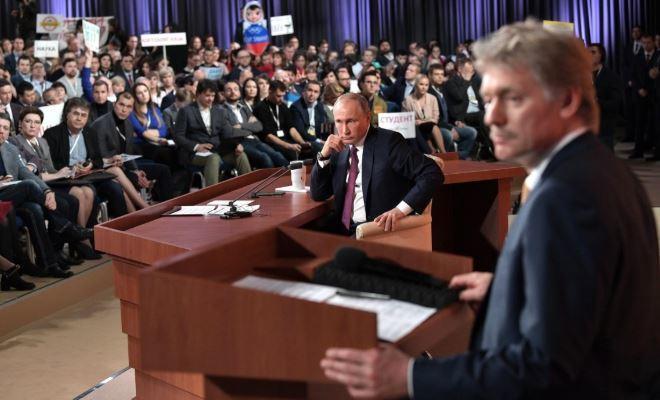 Песков сообщил, когда состоится ежегодная пресс-конференция Путина