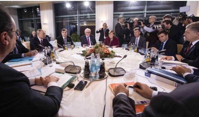 Стала известна дата встречи «нормандской четверки» в Берлине