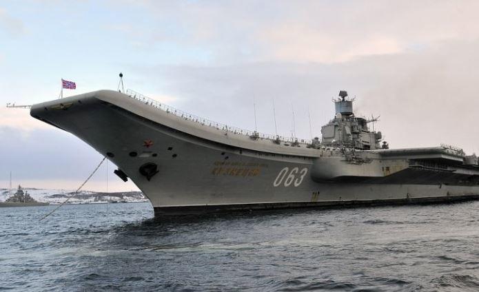 Стала известна стоимость восстановления «Адмирала Кузнецова»