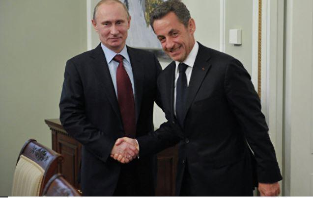Саркози признался в теплых чувствах к Путину