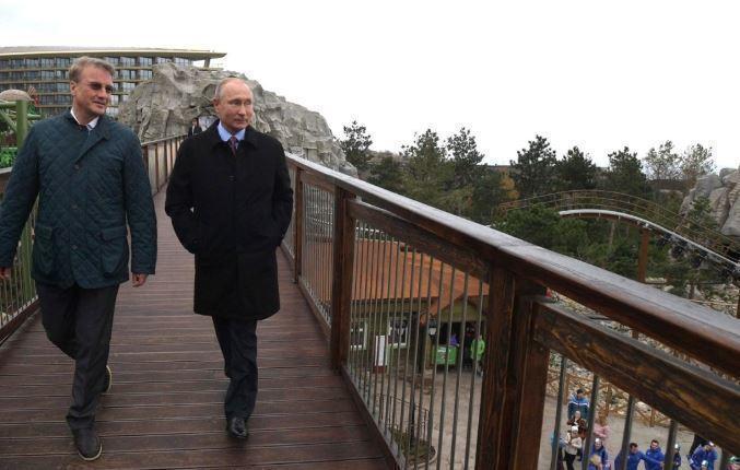 В Кремле прокомментировали протест Киева в связи с визитом Путина в Крым
