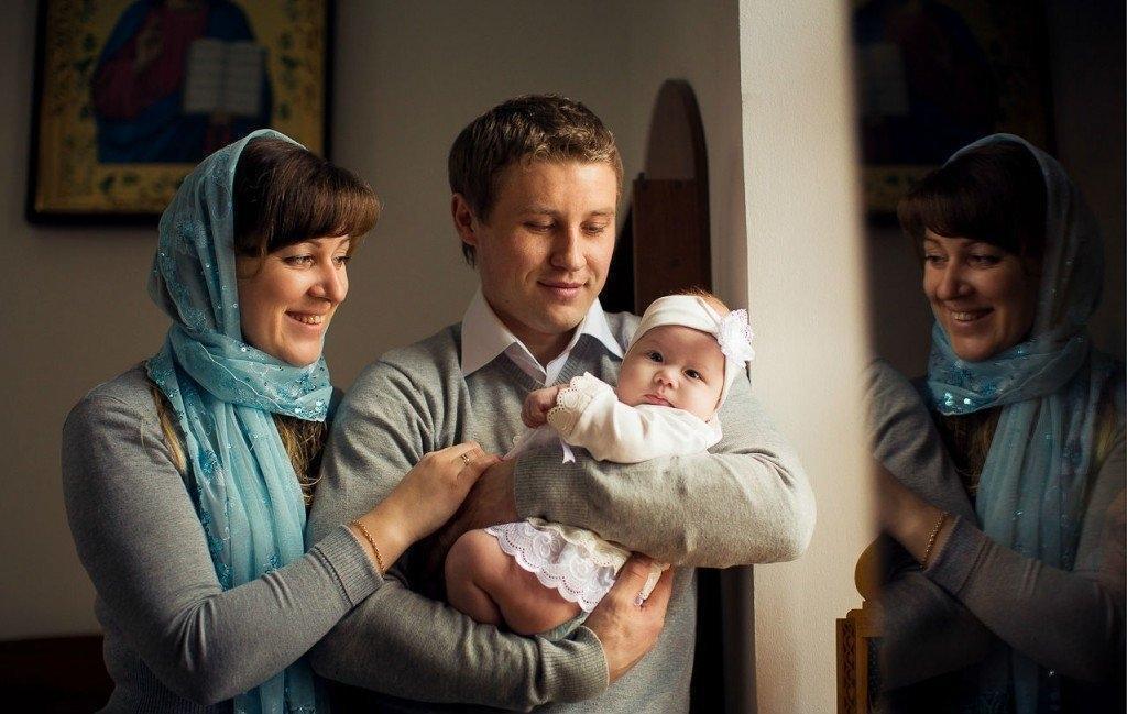 Подарки от крестных мамы и папы