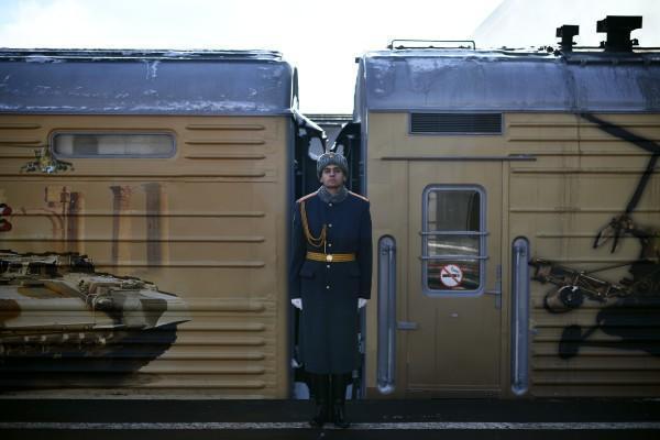 Из Москвы выехал поезд с сирийскими трофеями
