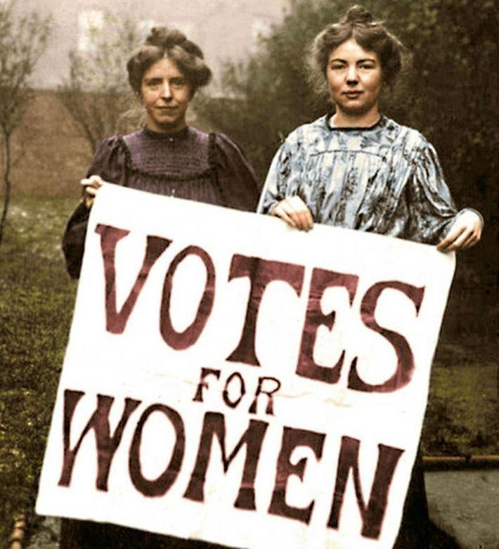 6 любопытных фактов из истории феминизма