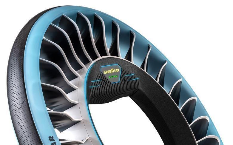 Goodyear создала шину, которая поможет автомобилям летать
