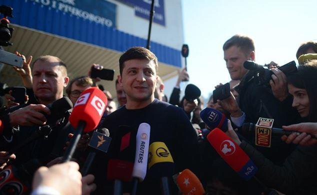 Зеленский обещает не собирать «майдан» в случае проигрыша на выборах