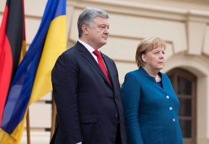 12 апреля в Берлине состоится встреча Меркель и Порошенко