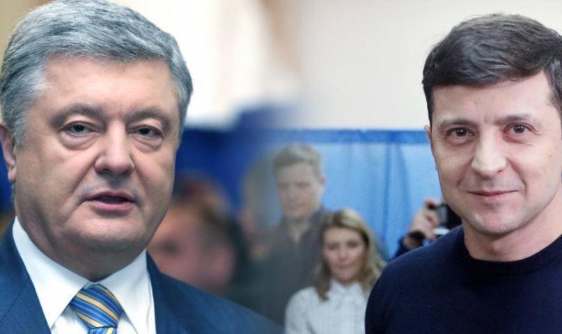 Порошенко пообщался с Зеленским по телефону