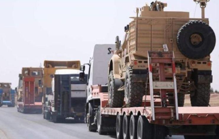 СМИ узнали о выходе военного конвоя США из сирийской Ракки