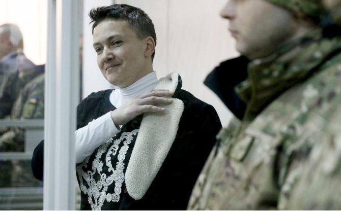 Савченко была освобождена в зале суда