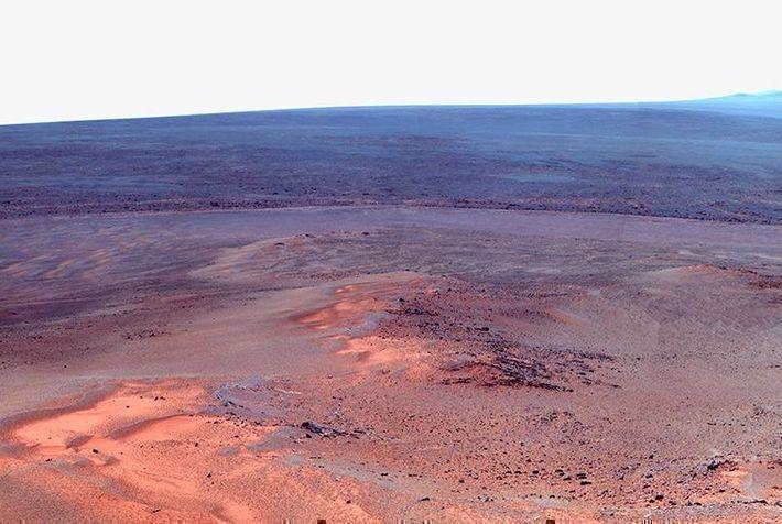 Французский датчик впервые зафиксировал подземные толчки на Марсе