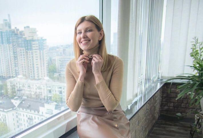 У супруги Зеленского обнаружилась элитная квартира в Крыму