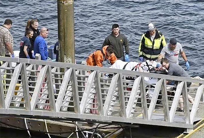 На Аляске в море рухнули два самолета с пассажирами