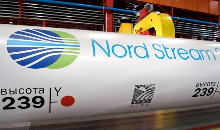 В Германии недовольные «Северным потоком — 2» пролезли внутрь газопровода