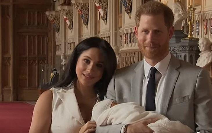 Принц Гарри положил конец слухам о том, где рожала Меган Маркл