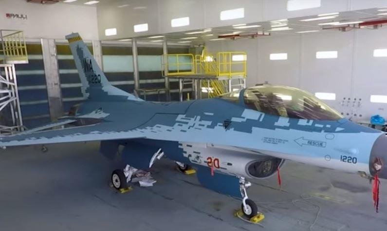 Американские военные выкрасили свой истребитель F-16 под Су-57