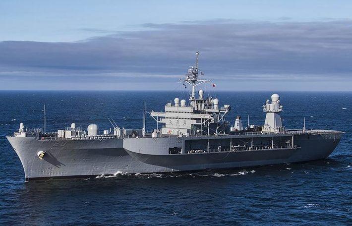 Военный корабль США вошел в Балтийское море