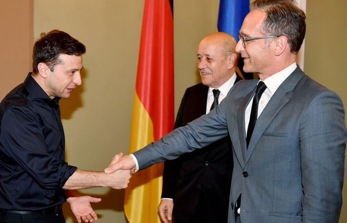 Глава МИД Германии после встречи с Зеленским сообщил о новом шансе для мира на Донбассе