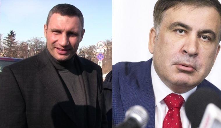 Кличко поставил точку в теме сотрудничества с Саакашвили