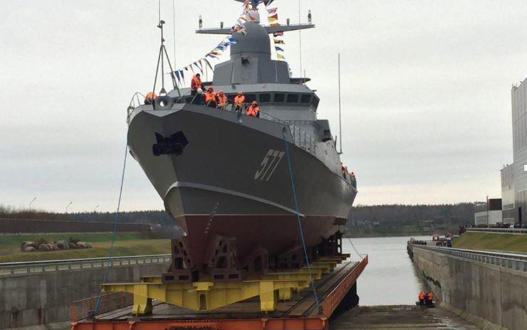 Латвия сообщила о 3х российских кораблях возле своих грани