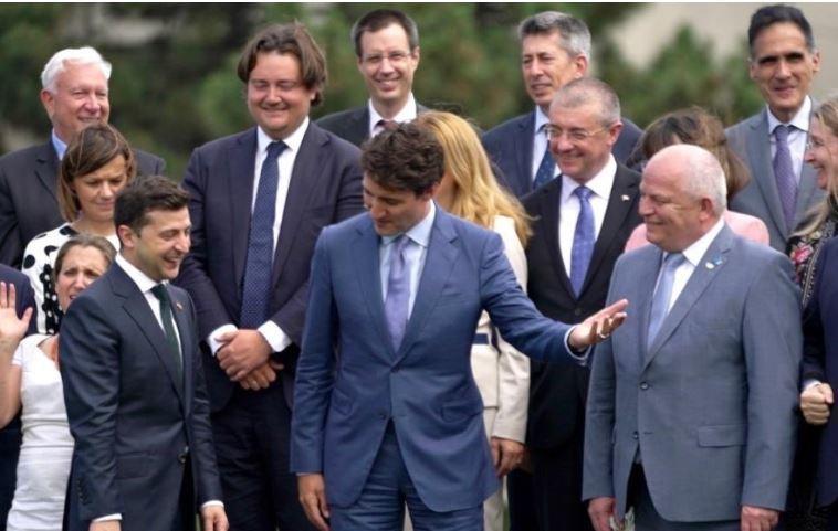 Премьер Канады обещает защищать суверенитет Украины