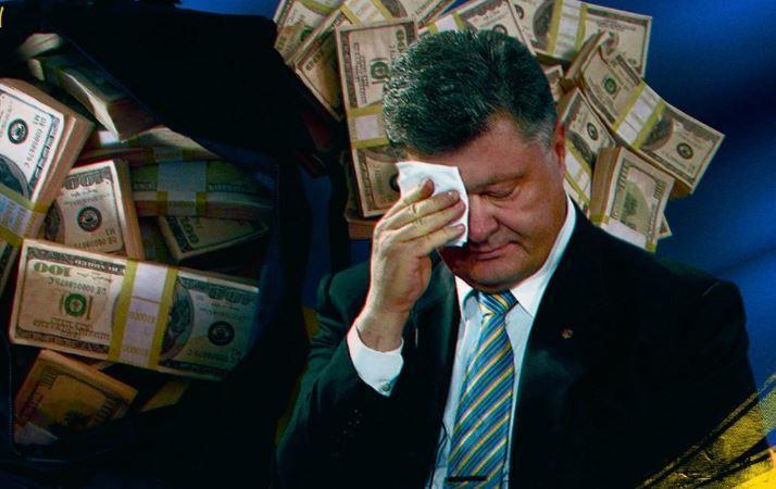 Порошенко забрал 34 млн долларов наличными после инаугурации Зеленского