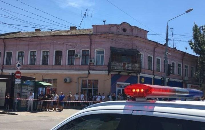 Злоумышленник захватил заложницу в Одессе