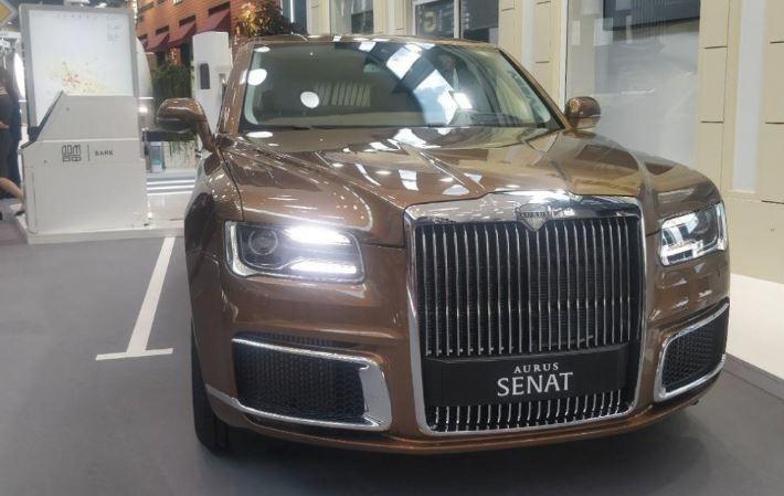 Глава Минпромторга сообщил, что Aurus сможет конкурировать с BMW 7 серии