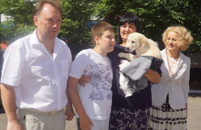 Семья из Красноярска поведала, как Путин исполнил мечту мальчика о собаке
