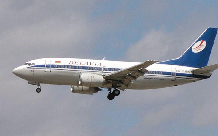 Самолет Belavia выкатился за пределы ВПП в аэропорту украинской столицы