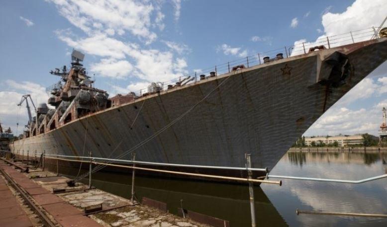 Крейсер «Украина» обобрал жителей страны до нитки