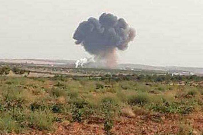 Боевики сбили Су-22 сирийских ВВС