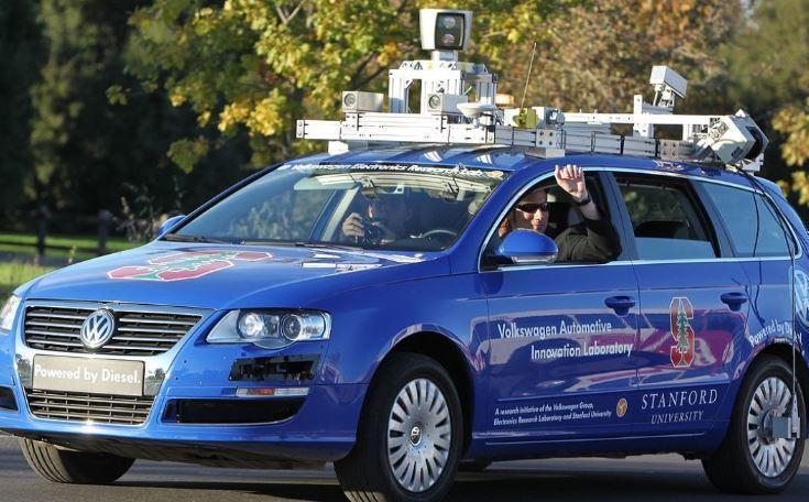 В РФ создали концепцию движения беспилотных автомобилей