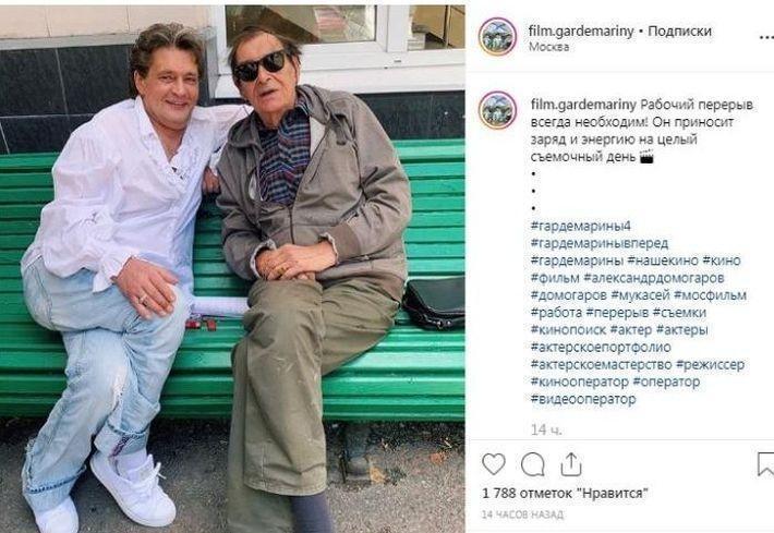 Сильно изменившийся внешне Александр Домогаров вызвал споры в Сети
