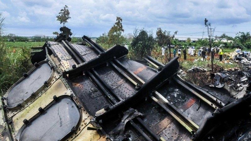В Конго разбился военно-транспортный самолет с россиянами на борту