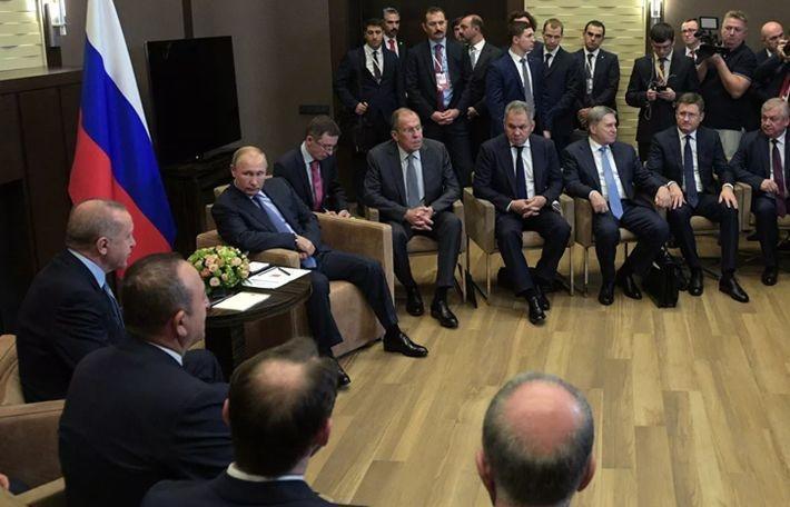 Путин счел судьбоносными решения по итогам встречи с Эрдоганом
