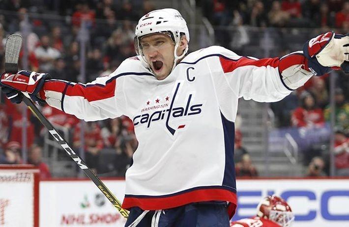 Овечкин вошел в пятерку самых результативных европейцев в НХЛ