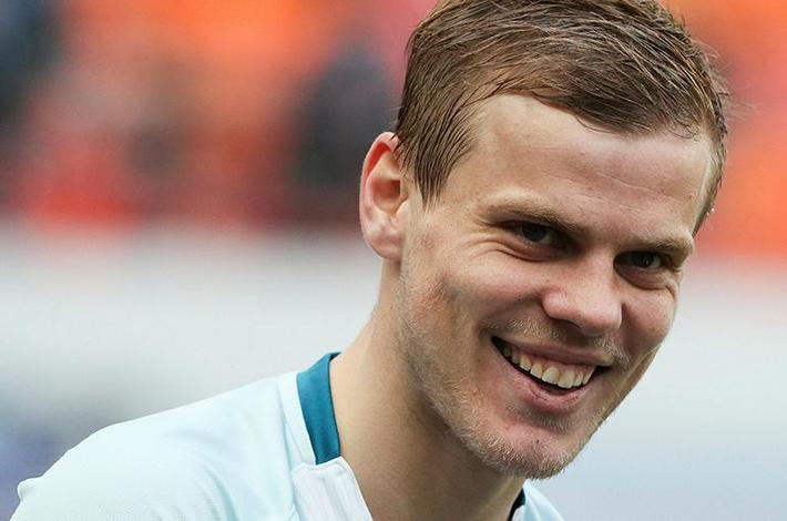 Нидерландский клуб хочет арендовать Кокорина вместо Смолова Спорт