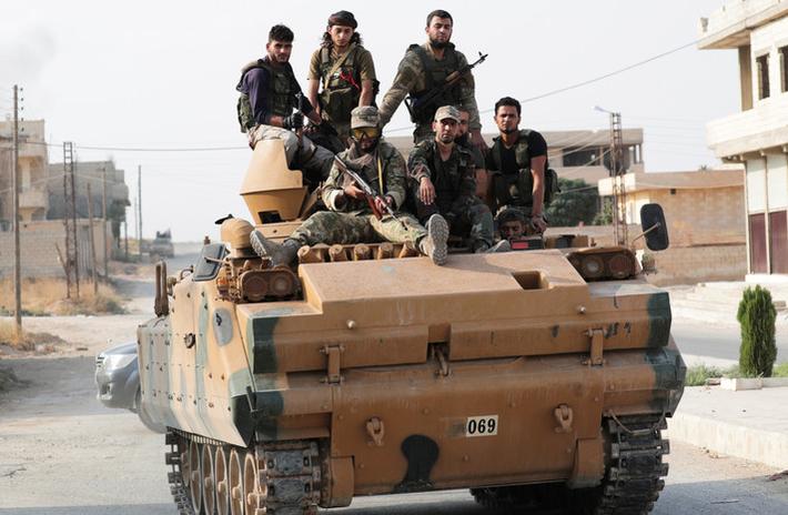 Боевики атаковали позиции армии Сирии 1